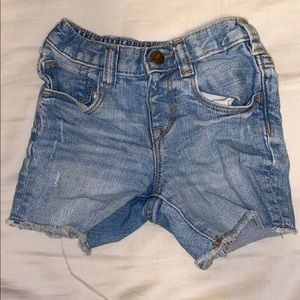 12-18 months baby gap denim shorts